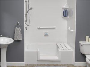 step-thru bathtub