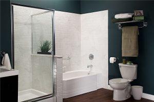 Bath and shower renovation